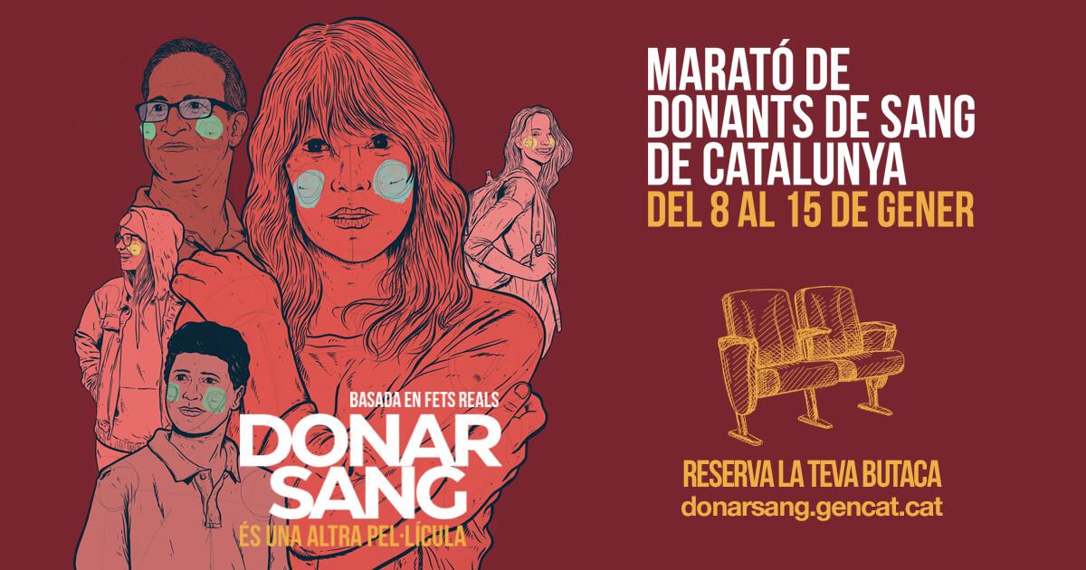 marató de donants de sang de catalunya